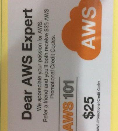 최근 AWS 101과장을 다녀 왔습니다. 9명까지 추천이 ㄱㅏ능하구요. 프로모션 코드를…