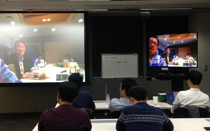 AWSKRUG와 일본 JAWS UG 고베 및 IoT 지부 스터디 모임과…
